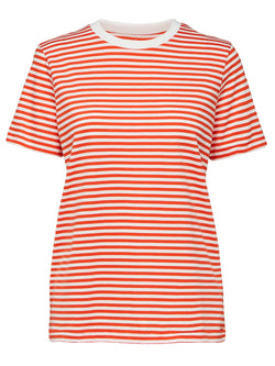 SLFMy Perfect Tee striped cotton T-shirt