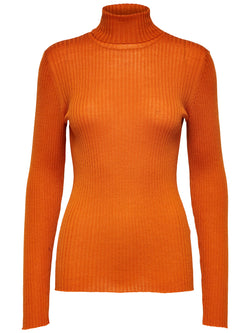 SLFCosta LS Roll Neck Sweater