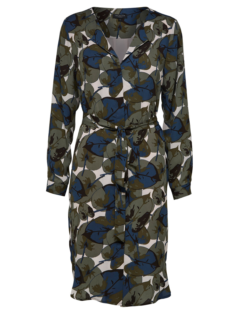 SLFDynella Leaf Print Dress