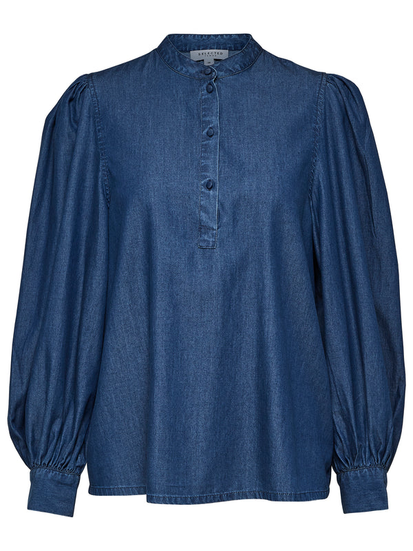 SLFAugusta Denim Shirt