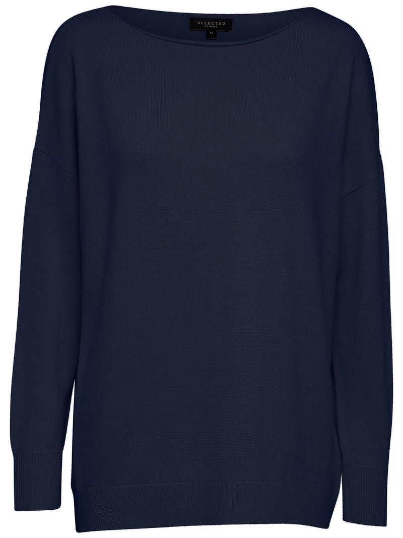 SLFNaya Cashmere Blend Tunic Sweater