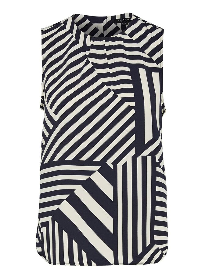 SLFAleena sleeveless printed top by Selected Femme