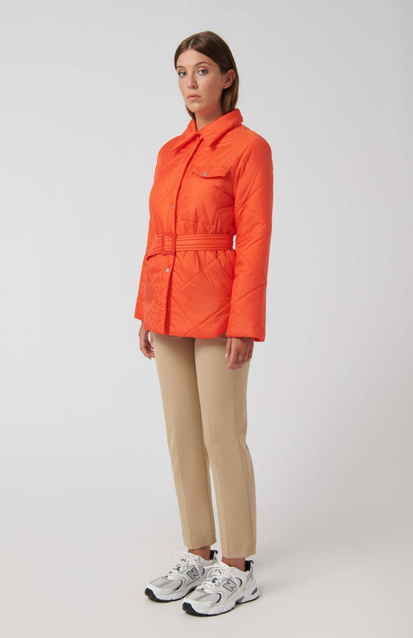 Loreak Niko padded jacket in mandarin.