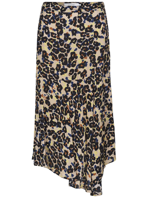 Munthe Dungeon Animal Print Skirt