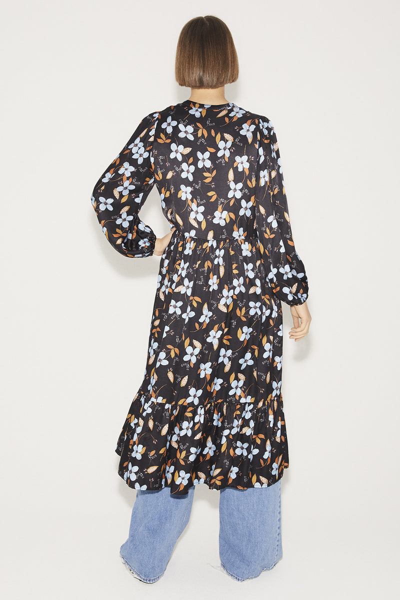Munthe Dull Floral Print Dress