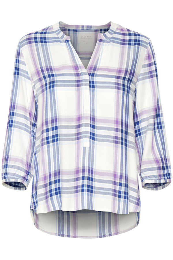 Chichi Checked Blouse