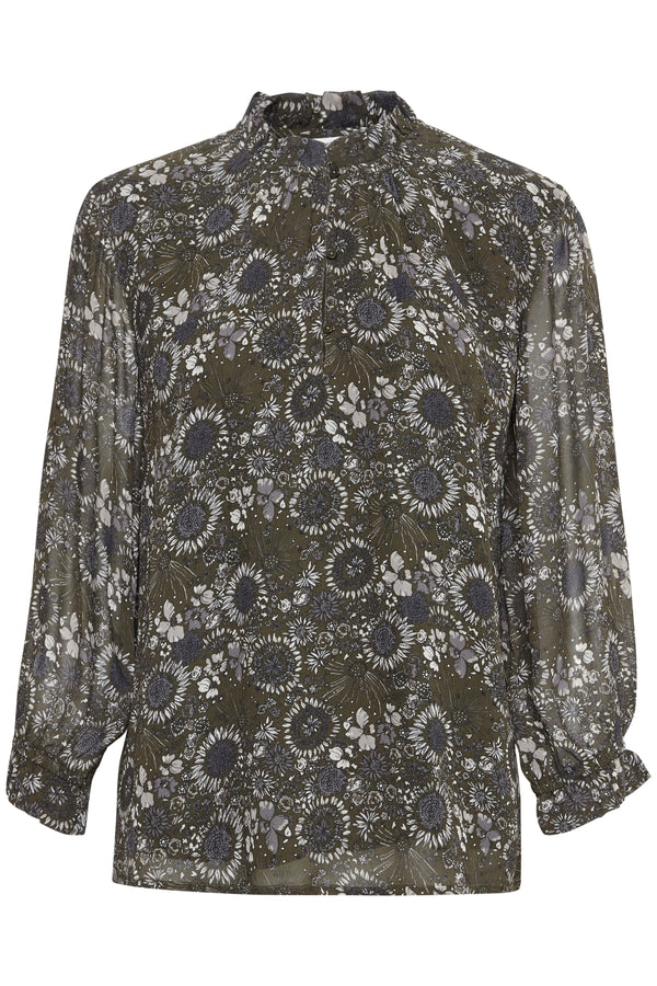 Part Two Tosca Floral Print Blouse