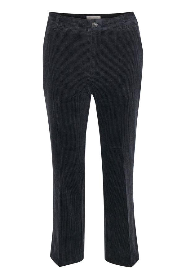 Part Two Misha Navy Cord Trousers