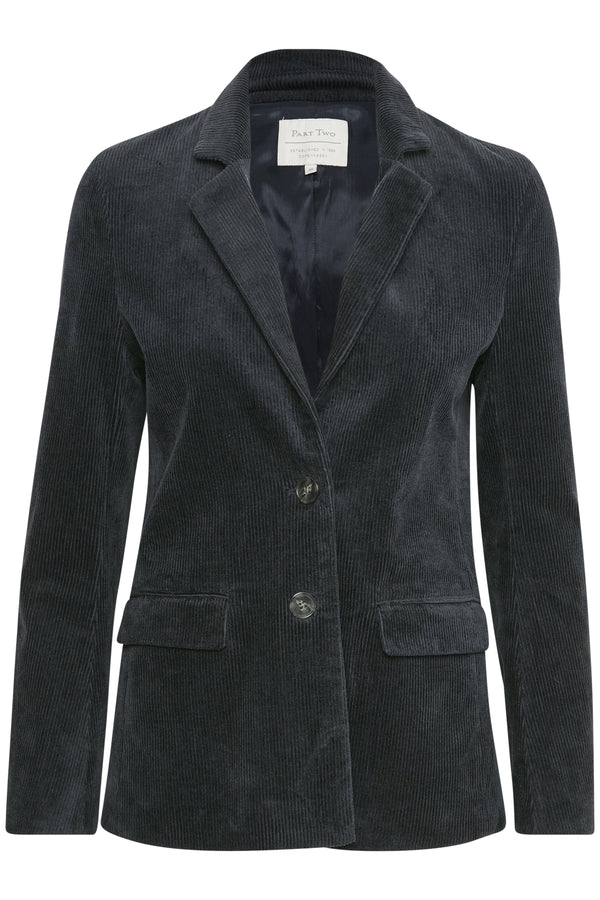 Part Two Trina Navy Corduroy Jacket
