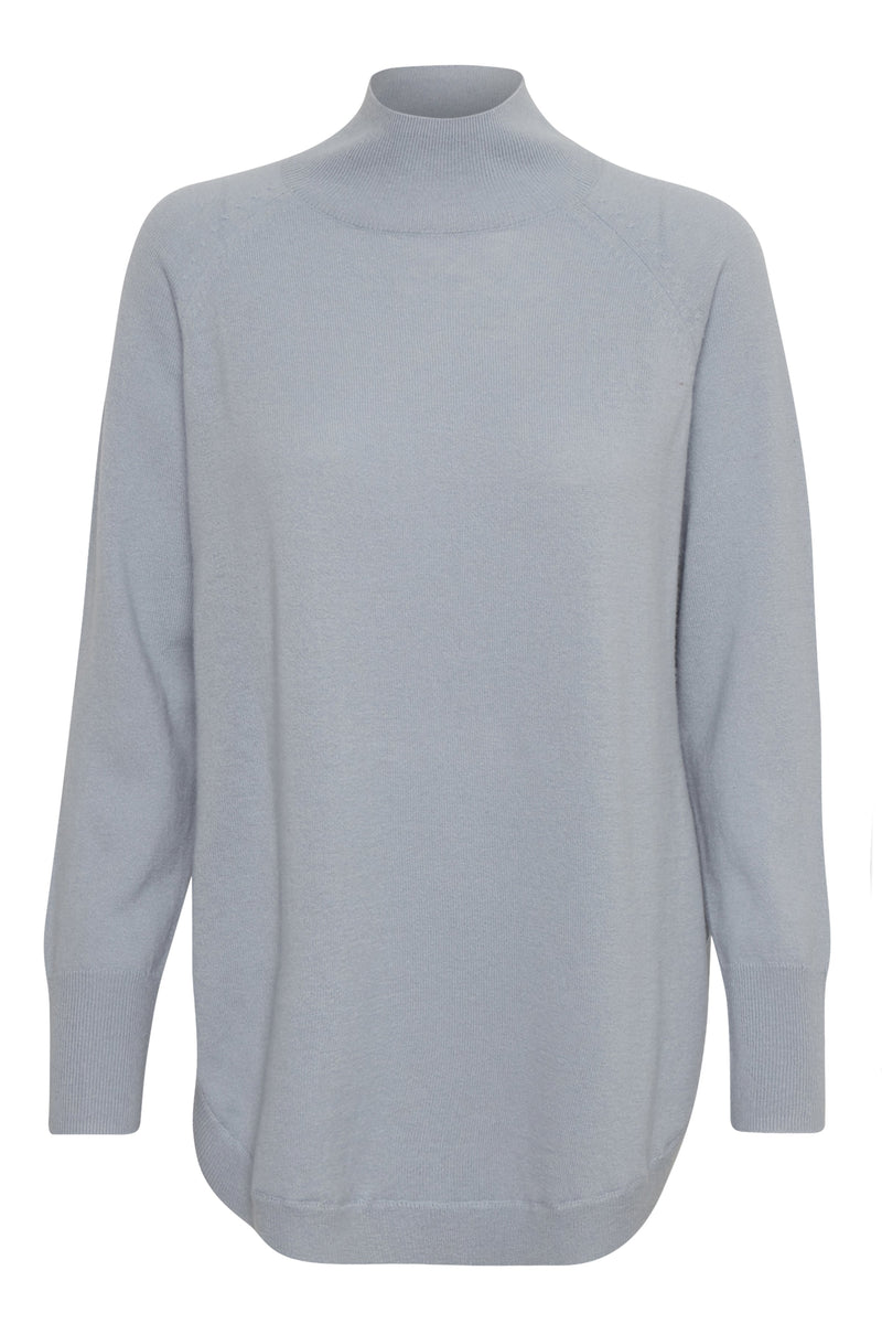 Part Two Taura wool sweater with high neck and relaxed fit.