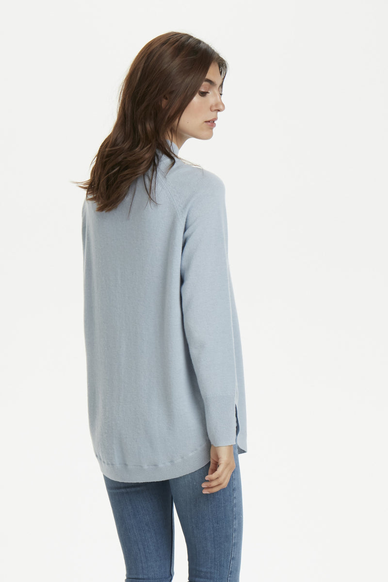 Part Two Taura wool sweater with high neck and relaxed fit