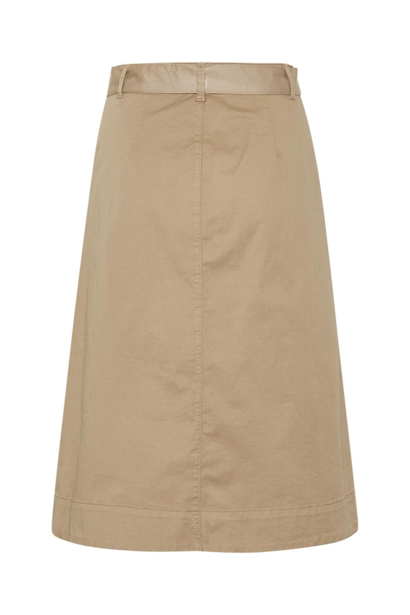 Part Two Belina Chino A Line Skirt