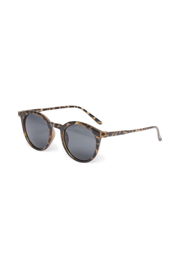 Part Two Banou tortoise shell wayfarer sunglasses with slightly rounded frames