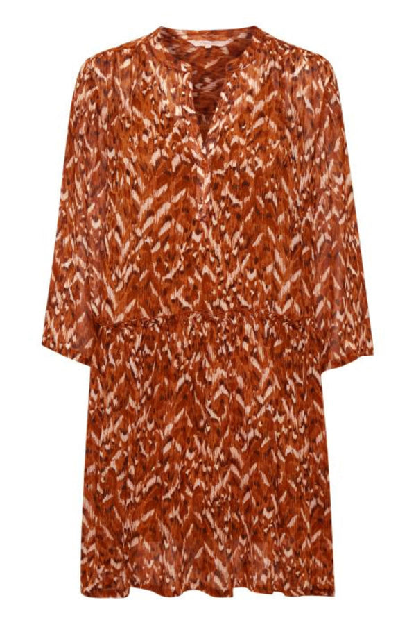 Part Two Sophias Texture Print Dress