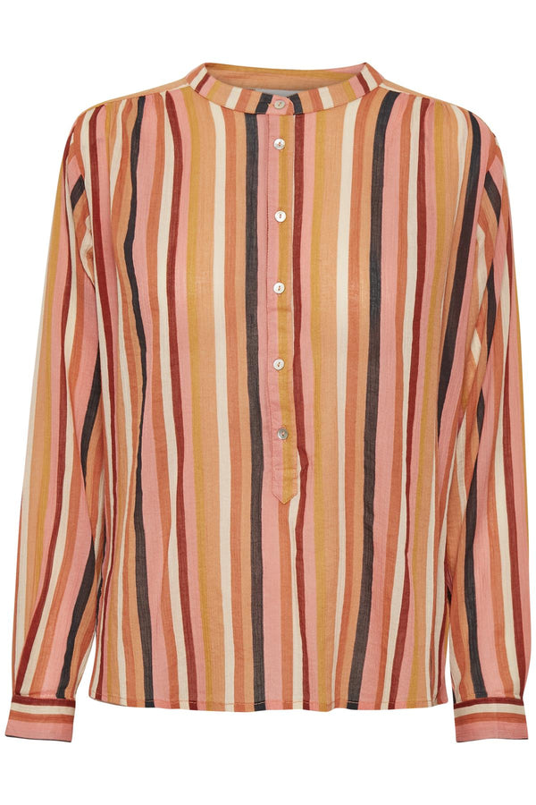Part Two Dami Multistripe Cotton Shirt