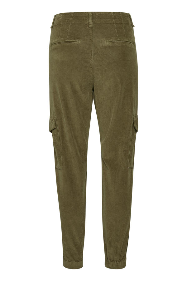 Part Two Sevena Cord Cargo Pant in Khaki