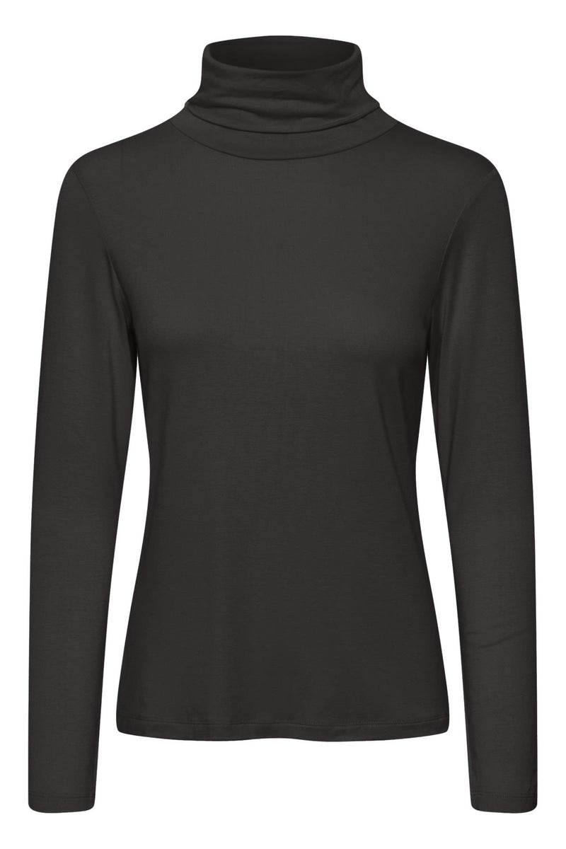 Part Two Efinas Roll Neck Long Sleeve Jersey T-Shirt