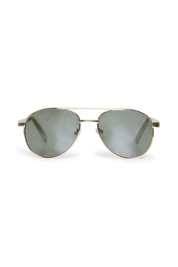Part Two Hani Aviator Sunglasses in Gold