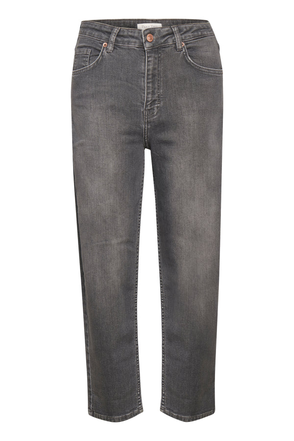 Part Two Hela Straight Leg Jean in Vintage Grey