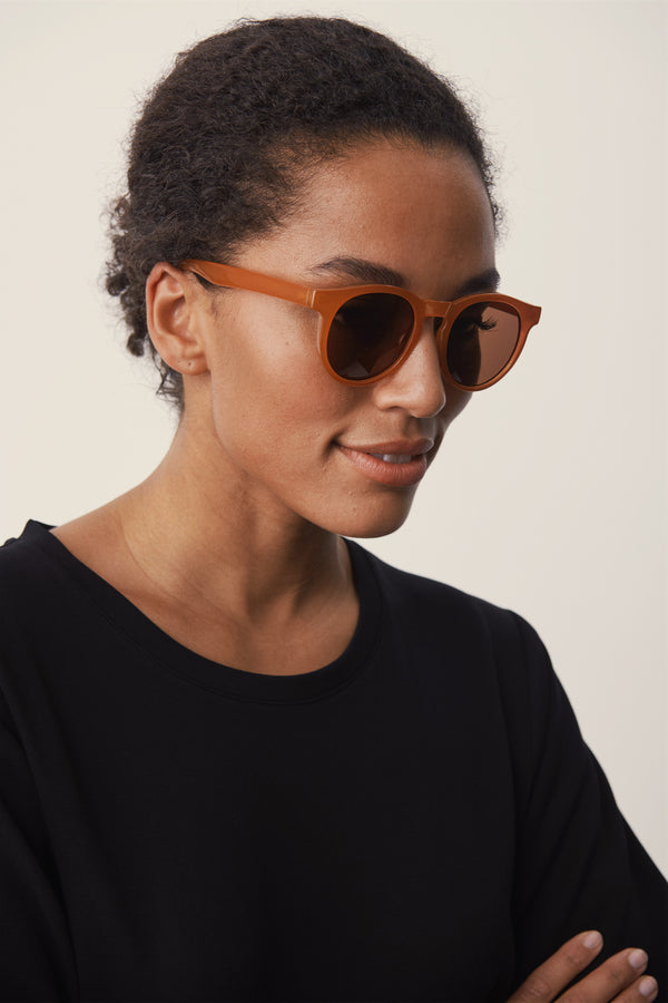 Part Two Hamda Sunglasses in Rose