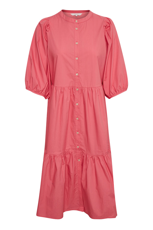 Hasita Tiered Dress in Pink