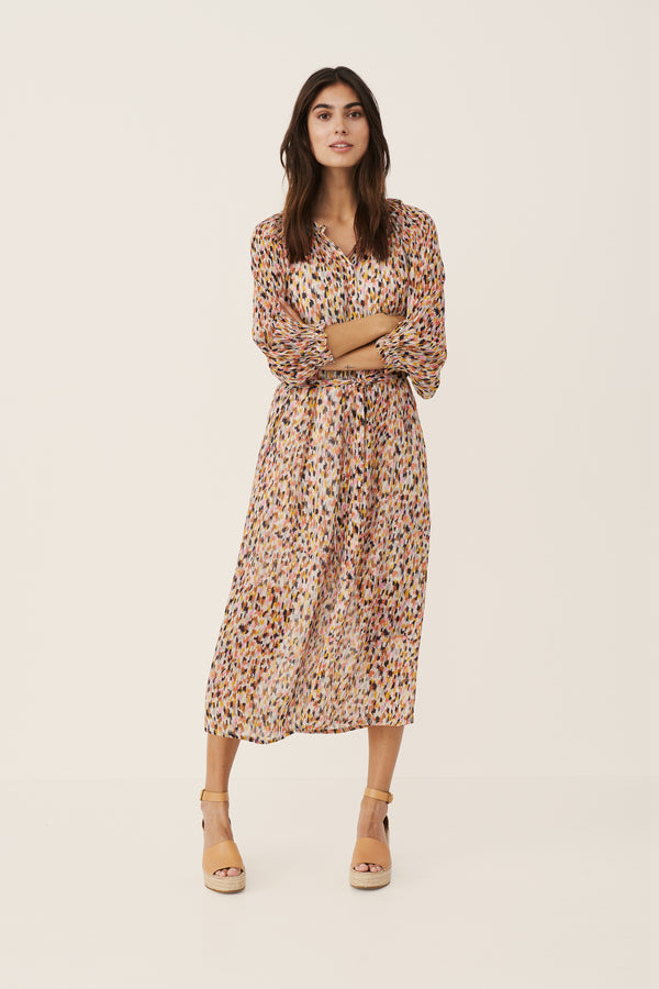 Part Two Hoang Dot Print Dress in Multi