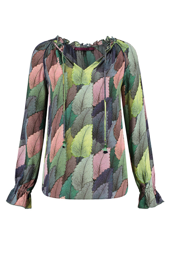 Pom Dreamy Leaves Blouse