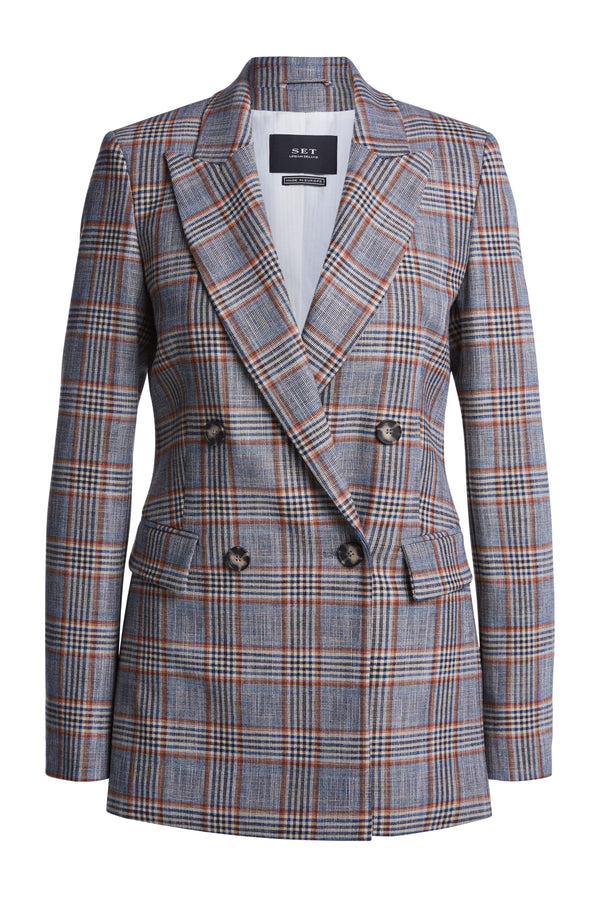 Set Prince of Wales check DB Jacket