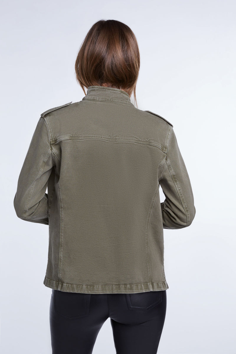 Set Kaila Cotton Field Jacket in Khaki