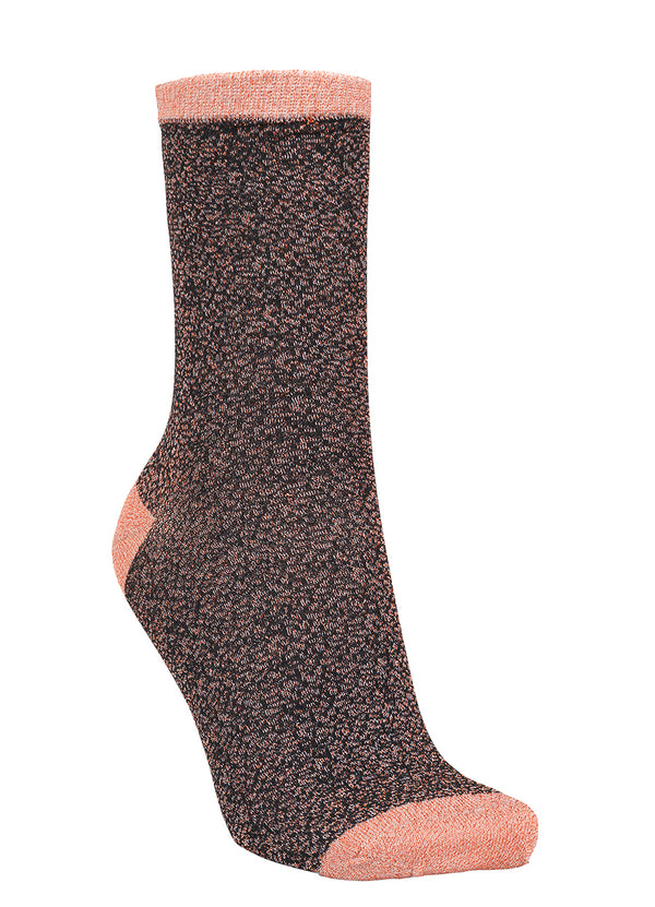 Dina Rose Animal Print Sock