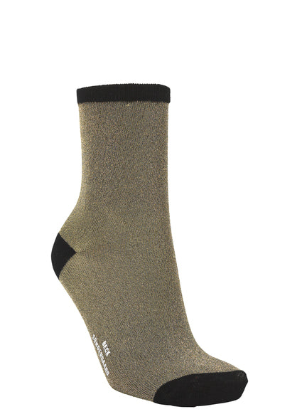 Dina Metallic Sock