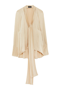 Ottodame Gold Satin Top