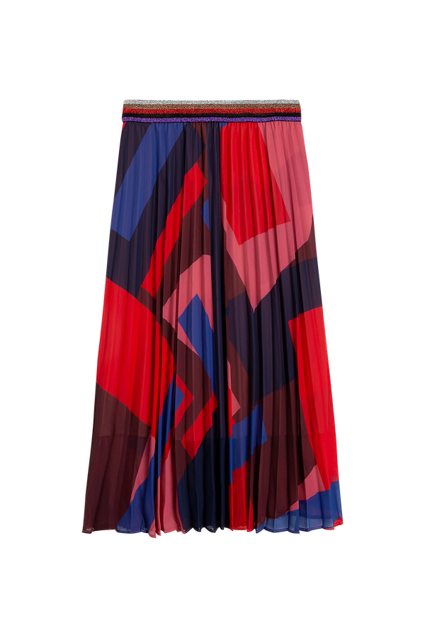 Suncoo France Pleated Skirt