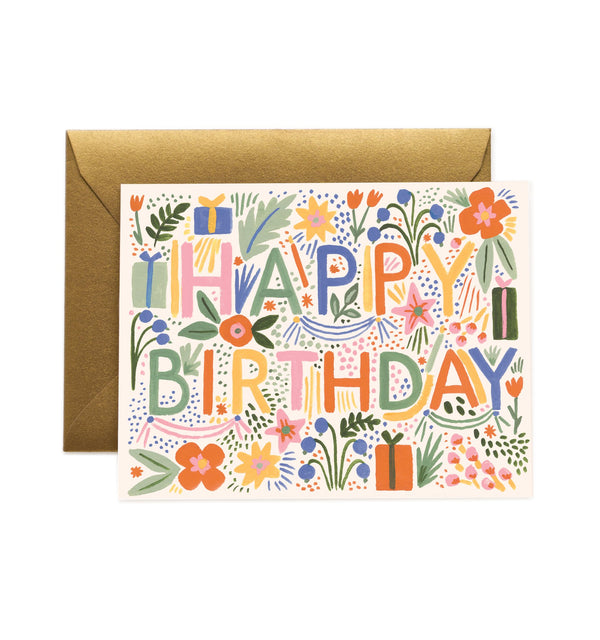 Rifle Paper Co Fiesta Birthday Card