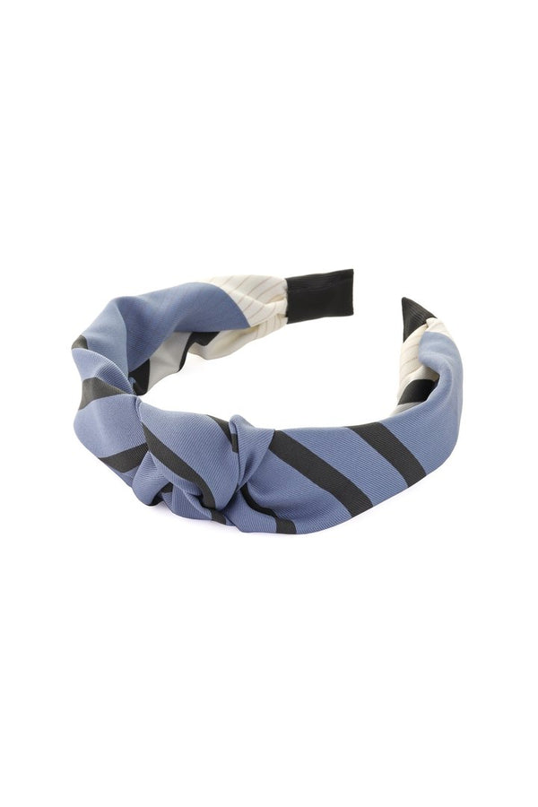 Tutti & Co Hudson Knot Headband in Blue