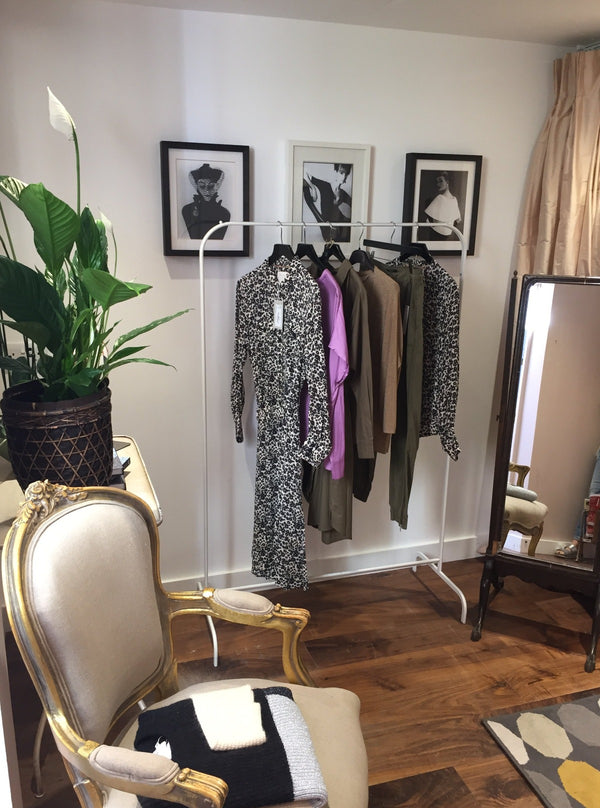 Private shopping space in the Precious garden room available by appointment