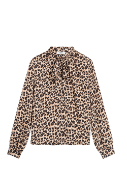 Suncoo Lisa Animal Print Blouse