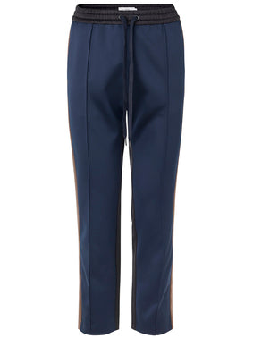 Munthe Harry Navy Blue Sporty Trouser