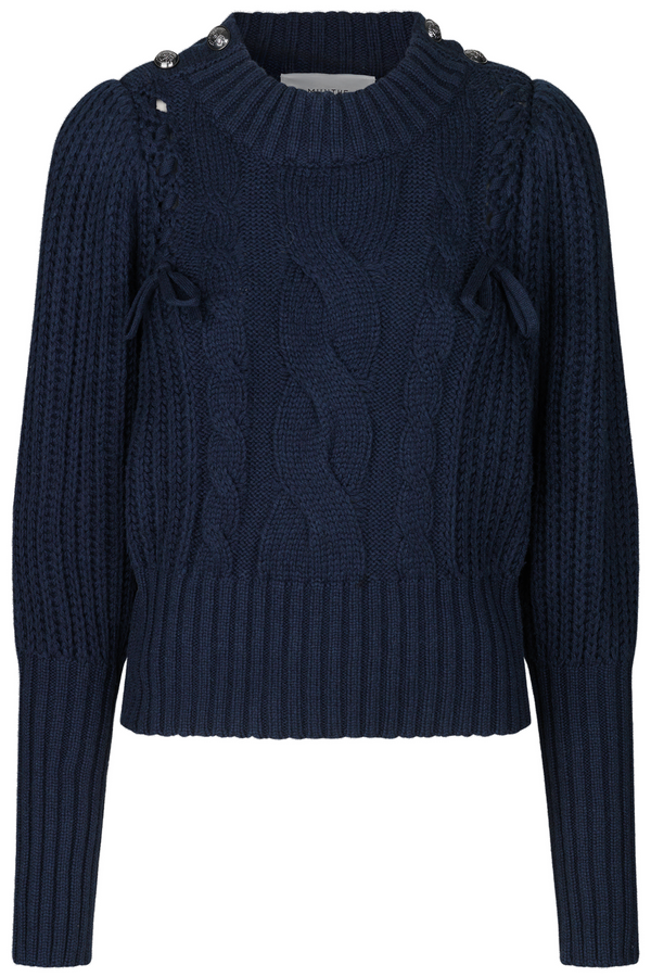 Munthe Turner Sweater in Navy www.precious-london.com