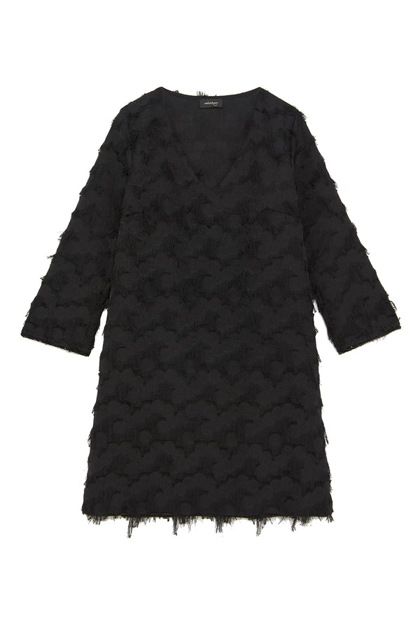 Ottodame Textured Shift Dress