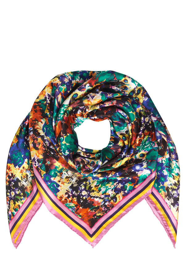Pancho Flowers Scarf