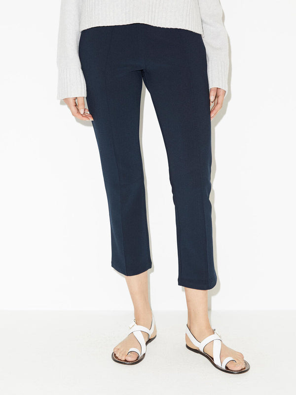 Viggie Stretch Trouser in Navy By Malene Birger