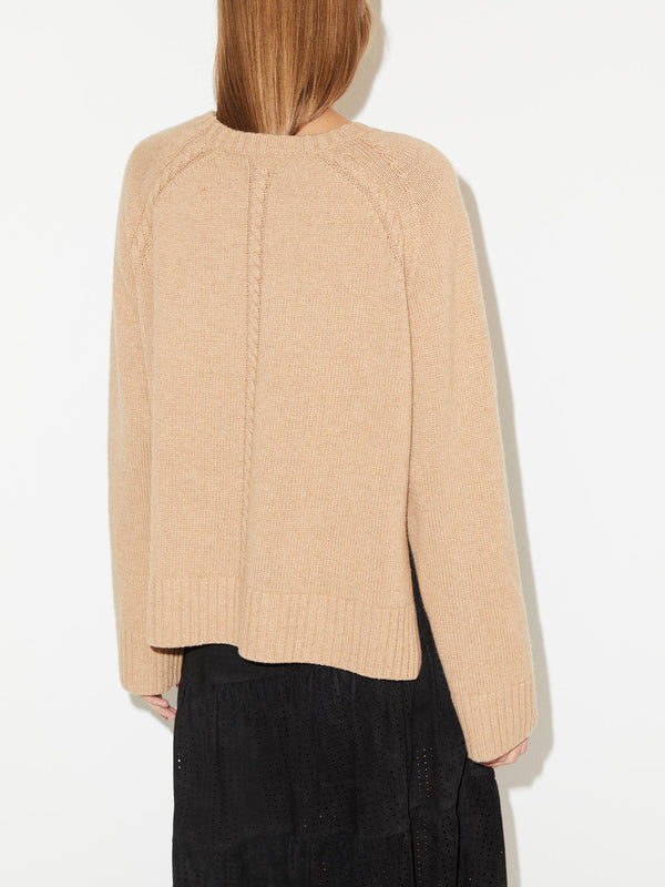 By Malene Birger Alvia Sweater in Camel