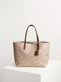 Abigail Signature Flower Print Tote Bag By Malene Birger