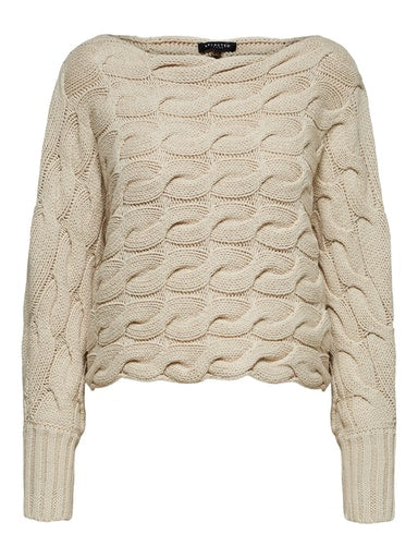 SLFCarma Cable Knit Sweater