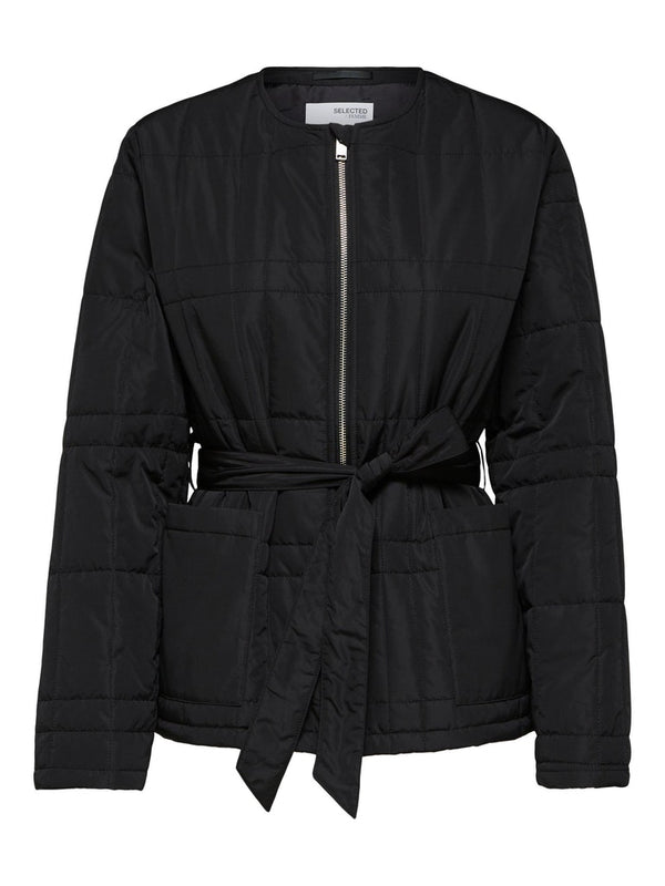 SLFPlastic Change Jacket in Black