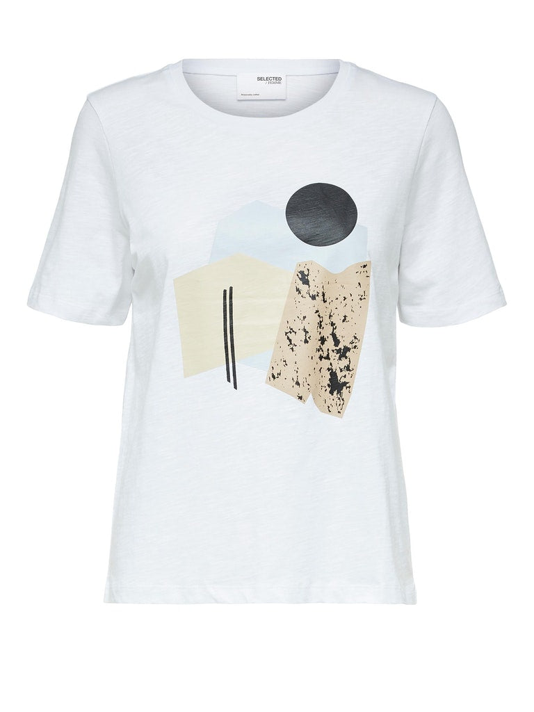 SLFNina T Shirt in White