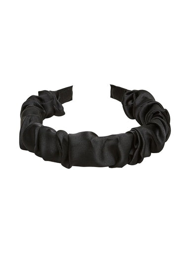 SLFRikke Ruched Hairband in Black