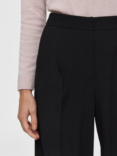 SLFTinni Black Wide Trouser