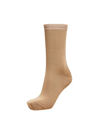 SLFBobby Tigers Eye Ribbed Sock